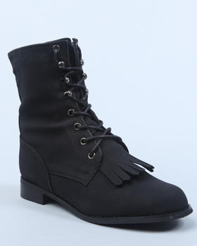 Fashion Lab - Lace up short boot