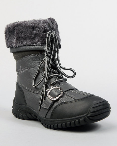 Apple Bottoms Women Grey Narele Boot