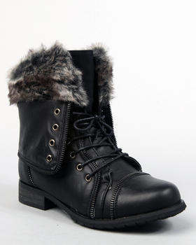 Apple Bottoms - Trinika boot w/faux fur