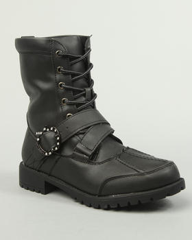 Apple Bottoms - Tamira laceup boot