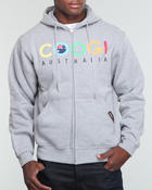 Cyber Monday Deals - Coogi Australia Basic Zip-Up Hoodie