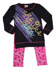 2T-4T Toddlers - 2-Piece Tunic with Legging Set