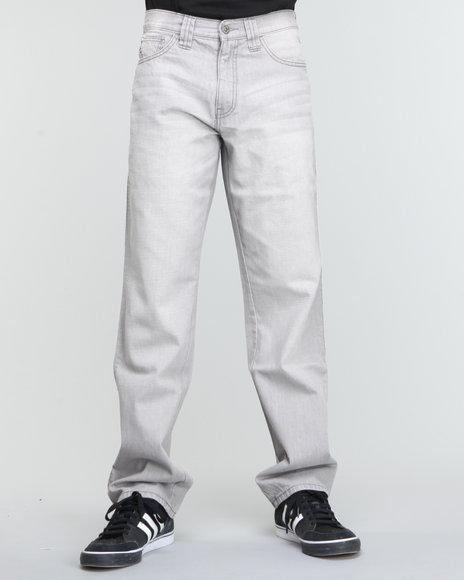 Pelle Pelle Men Grey Grey Blast Crest Denim Jeans