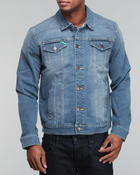 Men - Animal Lover Denim Jacket