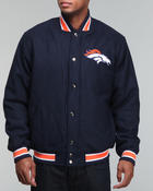 Men - Denver Broncos Varsity Jacket