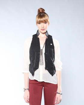 DJP OUTLET - Cavalry Leather Gilet