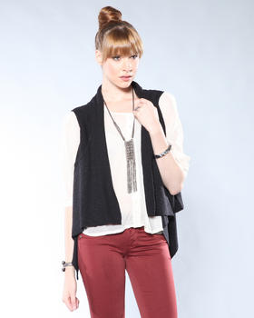 DJP Boutique - Drop Front Vest