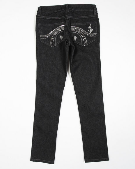 Baby Phat Girls Black Core Jeans (7-16)