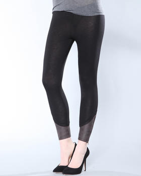 DJP Basics - ANKLE DETAIL LEGGING