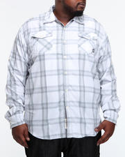 Men - Homesteader Roll Up Long Sleeve Plaid Shirt (B&T)