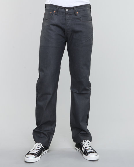 Levi's - Men Grey 501 Straight Fit Dane Jeans