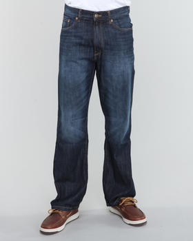 Company 81 - Greenwich Dark Ink wash straight fit denim jeans
