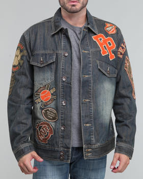 Pelle Pelle - patch denim jacket