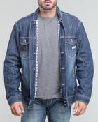 Men - Classic pelle denim jacket