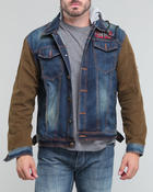Hudson NYC - A J Hooded Denim Jacket