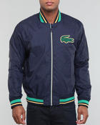 Men - L!Ve Taffeta Bomber Jacket w/ Applique Croc