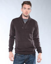 DJP Basics - Cable - Trimmed Pullover Sweater