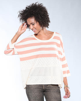 DJP OUTLET - Attempt Mixed Sweater