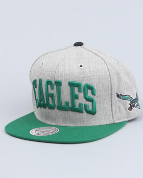 Mitchell & Ness - Philadelphia Eagles NFL Throwback basic arch road grey 2T Snapback cap