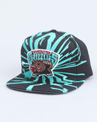 Men - Vancouver Grizzlies NBA  Earthquake snapback cap