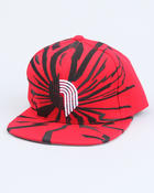Men - Portland Trailblazers NBA  Earthquake snapback cap