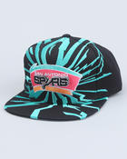 Men - San Antonio Spurs NBA  Earthquake snapback cap