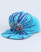 Men - Charlotte Hornets NBA Earthquake snapback cap