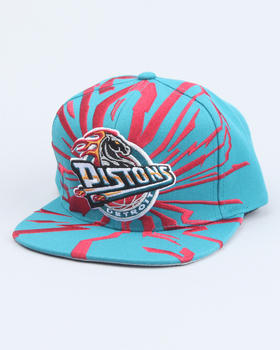 Mitchell & Ness - Detriot Pistons NBA  Earthquake snapback cap