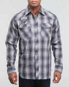 Men - Plaid Button Down