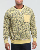 Men - Vintage Camo sweatshirt