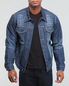 Buyers Picks - Medium blue washed denim jacket