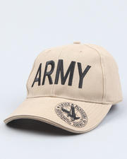 DRJ Army/Navy Shop - Vintage Olive Drab Army Deluxe Low Profile Insignia Cap