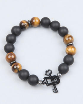 Mister SF - Mr. Onyx / Tigereye Bead Bracelet