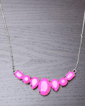 DJP OUTLET - LONG CHAIN BIB NECKLACE