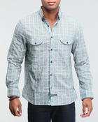 Men - The Leicester button down shirt (under collar treatment)
