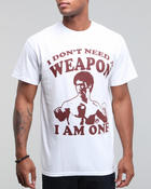 Men - I Don't Need a Weapon Tee
