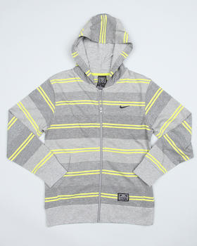 Nike - Striped Zip Hoody (8-20)