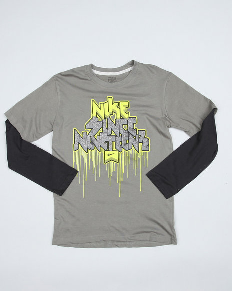 Nike Boys Grey Nike Since 1972 Twofer (8-20)