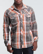 Men - Oversized plaid shirt