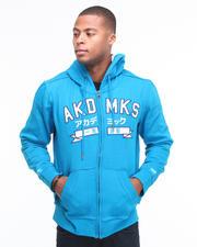 Hoodies & Track Jackets - Hiro Logo Full Zip Hoodie