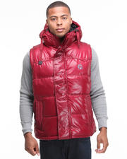 Outerwear - Outlander Hooded Bubble Vest