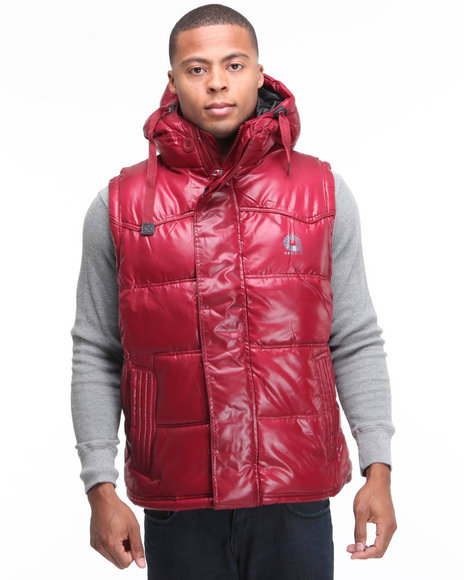 - Outlander Hooded Bubble Vest