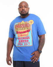 Big & Tall - Hot Dog Graphic Tee Shirt (B&T)