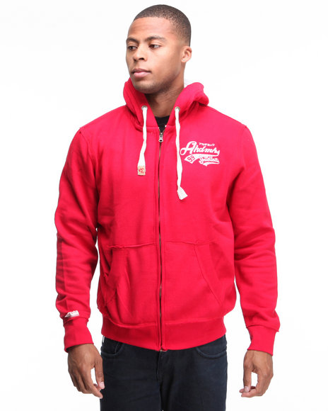 - Spectator Flocking Printed Full Zip Jacket