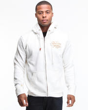 Men - Spectator Flocking Printed Full Zip Jacket