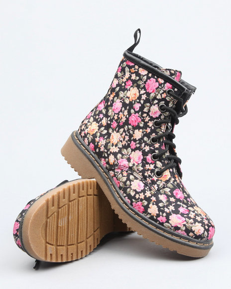 floral boot (youth)