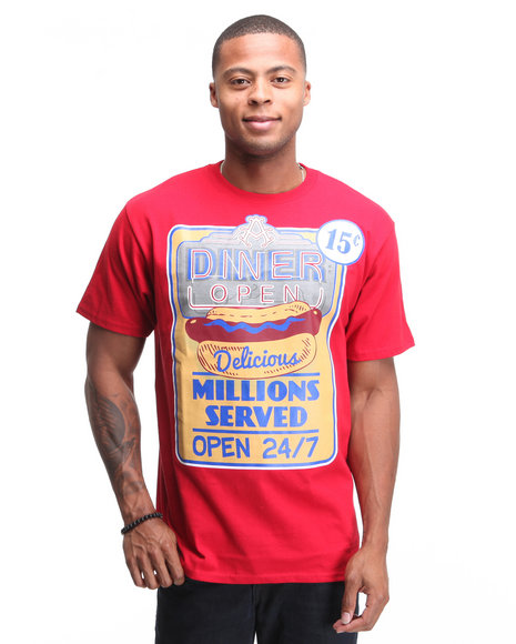 - Hot Dog Graphic Tee Shirt