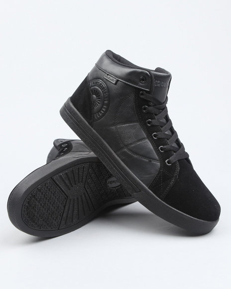Akademiks Men Black Akademiks Rolodex Hightop Sneaker