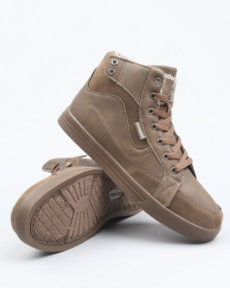 Akademiks Men Brown Akademiks Flare High Top Sneaker
