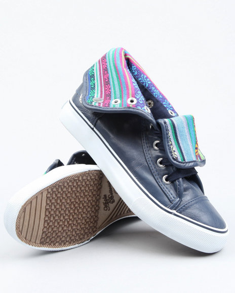 Apple Bottoms - Women  Elois Aztec Trim Sneaker - $17.99